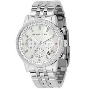 MICHAEL Michael Kors MK5020 Silver Watch